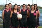 The 2013 college team is Amiria Poa, Jayana Stillwell, Riparata Poa, Piata Thomson, Rongo Paniora, Aaliyah Thomson, Te Ana Ngata and Penelope Poa. Photo / Supplied