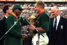 Winning the Webb Ellis Cup in 1995 meant the world to South Africans.