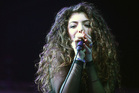 Lorde performing at Vector Arena. Photo / Norrie Montgomery
