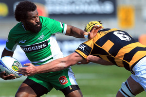 Manawatu squeezed past North Harbour 15-12 in Palmerston North today to notch a precious ITM Cup victory. Photo / Getty Images.