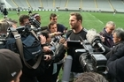 """The All Blacks captain Kieran Read says this is their biggest test for a long time. """"We'll expect them to come at us pretty heavily in the forwards so that's what our challenge is this week, for the boys up front to really get stuck into it"""""""