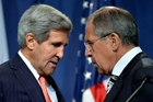 John Kerry, left,and Sergei Lavrov agreed on a way for Syria to destroy all of its chemical weapons. Photo / AP