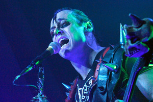 Singer Gerald Caiafa aka Jerry Only of the band Misfits. Photo / Getty Images