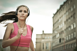 Time flies faster when you exercise while listening to music.Photo / Thinkstock