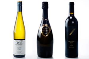 Misha's Vineyard Limelight Riesling 2012, Morton Estate Black Label Methode Traditionelle 2004 and Destiny Bay Mystae 2008