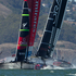 Emirates Team New Zealand get the jump on Oracle at the start, to win Race 11 of the America's Cup. Photo / Brett Phibbs