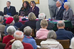 U3A Mayoral debate in Rotorua on September 18. Photo / Stephen Parker