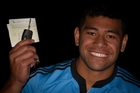 The lure of a new car saw All Black back Charles Piutau secure his full driver's licence yesterday. Photo / Sarah Ivey