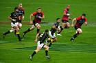 Lima Sopoaga of Wellington runs the ball. Photo / Getty Images