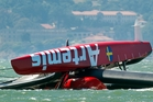 The Artemis Racing AC72 capsized in May this year during a training excercise killing Andrew