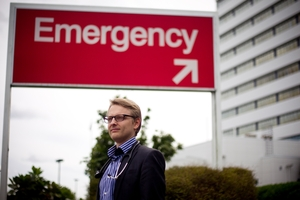 Aidan Gill has left medicine to concentrate on further developing his Smartphone app. Photo / Dean Purcell