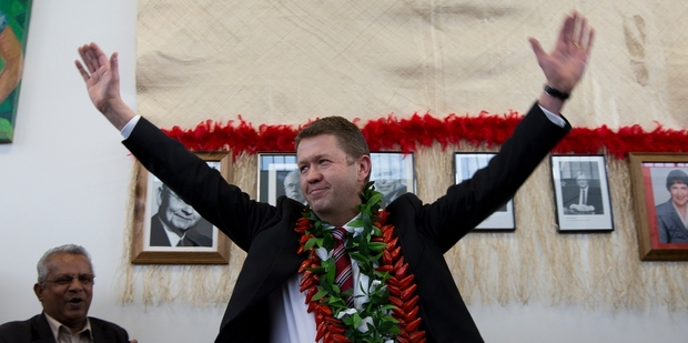 David Cunliffe says he no longer cares whether his colleagues like him. Photo / Brett Phibbs