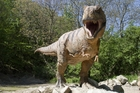 Tyrannosaurus Rex is destined to remain the stuff of nightmares. Photo / Getty Images