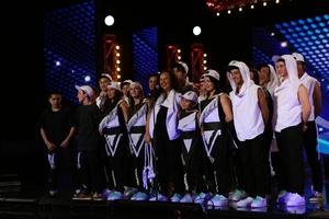 TALENTED: Members of OKK (Original Kids Krew) on stage in NZ's Got Talent. PHOTO/SUPPLIED