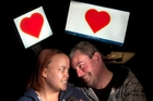 Stacie and Ken Austin met online eight years ago and married this year. Photo / Ben Fraser