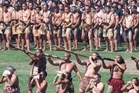 Thousands watched Te Arawa warriors welcome visitors to the opening of this year's Te Matatini Kapa Haka Festival at the Rotorua International Stadium. Photo / File