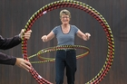 Sue Davies, a Pyes Pa grandmother, started Exerhoop last year and says age is no barrier for enthusiastic entrepreneurs. Photo / File