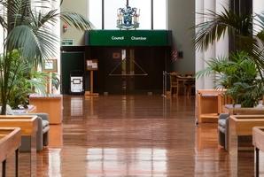 The council chamber In Rotorua.