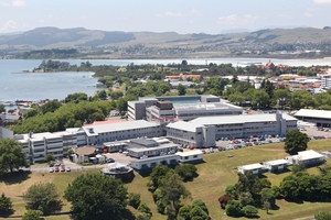 CENTRE: Rotorua Hospital is the largest in the Lakes District Health Board, which also covers Taupo.PHOTO/FILE