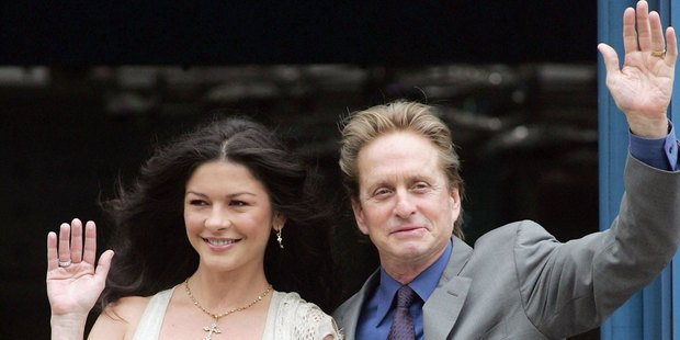 Catherine Zeta Jones and Michael Douglas have gone through bipolar disorder and cancer,Photo / Getty