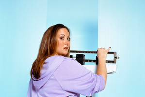 The way the stomach detects and tells the brain how full we are becomes damaged in obese people.Photo / Thinkstock