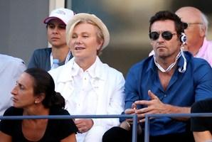 Hugh Jackman and his wife Deborra-Lee Furness.Photo / Getty