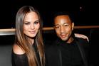 Chrissy Teigen and John Legend got married over the weekend. Photo / AP