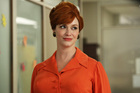Christina Hendricks as Joan Harris in a scene from Mad Men. Photo / AP