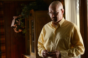 Bryan Cranston as Walter White in a scene from Breaking Bad.