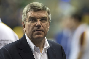 New Zealand officials are hoping to have new International Olympic Committee boss Thomas Bach in the country next year. Photo / Getty Images.