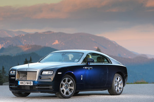 Yes, it's a big one. Rolls Royce's new 2-door Wraith has acquired sportiness while retaining the marque's dignity. Pictures / James Lipman