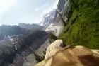 This amazing GoPro cam footage captured some amazing scenes as it was placed upon an eagle flying through Mer de Glace glacier and Montenvers Railway on northern slopes of the Mont Blanc massif, in the French Alps.