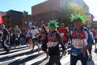 Running NYC's five boroughs for the New York Marathon. Photo / Megan Singleton