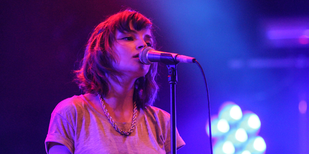Lauren Mayberry of synth-pop trio, CHVRCHES. Photo / Creative Commons