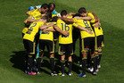 With a new major sponsor on board, the Wellington Phoenix management now have to find a way to bring the punters through the gates at the Cake Tin this season. Photo / Getty Images.