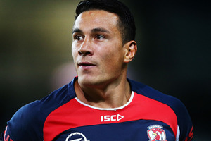 Kiwis selectors are still unsure about whether they will be able to call on Sonny Bill Williams. Photo / Getty Images.