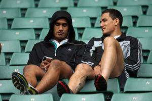 Jerome Kaino and Sonny Bill Williams may yet be reunited in the All Blacks. Photo / Getty Images
