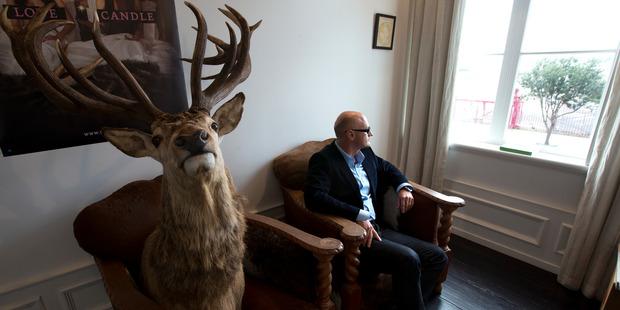 Geoff Ross, CEO, of Moa beer. Photo / Brett Phibbs