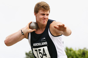 Jacko Gill is looking forward to competing as a senior. Photo / Getty Images