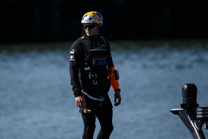 Oracle Team USA skipper Jimmy Spithill. Photo / Oracle