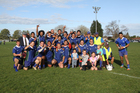 A jubilant Eastern Bay of Plenty team after their Stan Meads Cup win on Sunday.