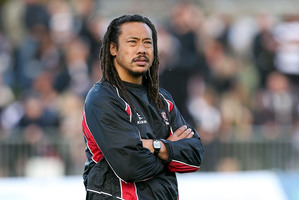 Counties coach Tana Umaga. Photo / Getty Images.