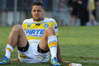 Jarryd Hayne is said to be considering a move to Canterbury after an awful season. Photo / Getty Images
