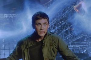 Logan Lerman in Percy Jackson: Sea of Monsters.