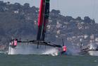 Emirates Team New Zealand. Photo / Brett Phibbs