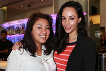 America's Cup Breakfast at Soul Bar, L to R, Helena McAlpine and Shavaughn Ruakere.Photo / Norrie Montgomery.
