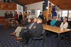 Members of Tauranga Yacht and Power Boat Club gathered to watch what could be the last races of the cup.  Photo / John Borren