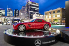 Mercedes-Benz NZ is having a series of pop-up showrooms, called Take the Wheel, around NZ starting with one in Britomart, Auckland.