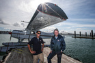 Stephen Newland and Chris Sattler aim to have their Aotearoa II seaplane operating this summer. Photo / Getty Images