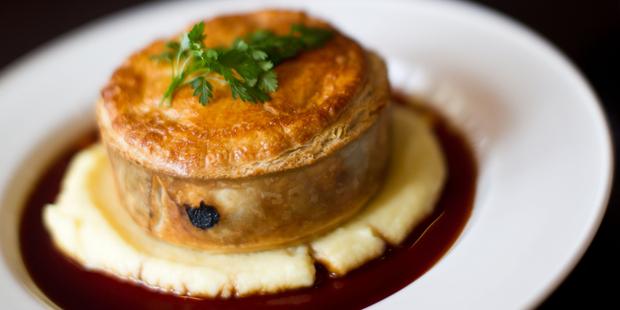 Prego Pie at Prego restaurant in Ponsonby, Auckland. Photo / Richard Robinson